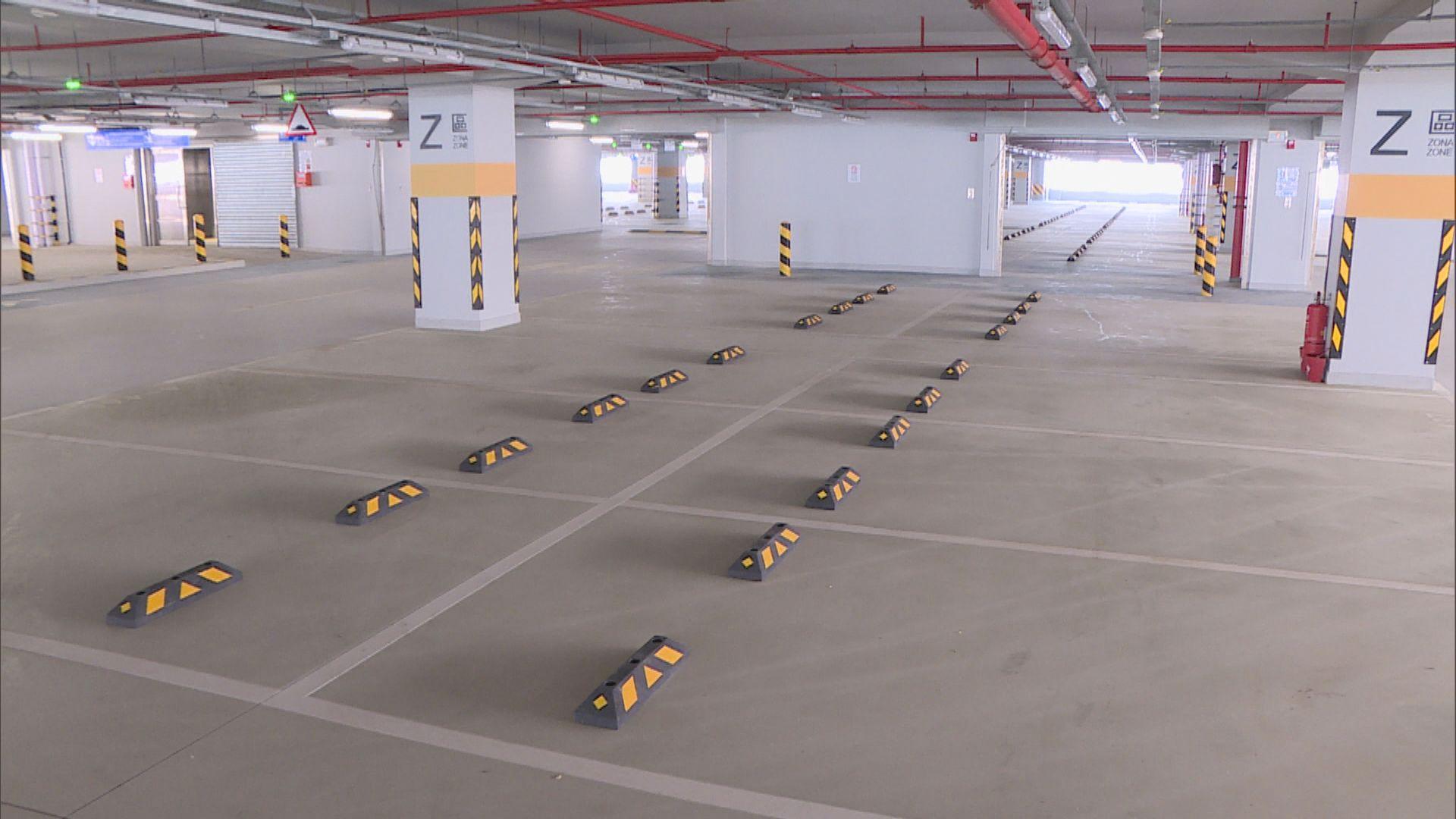 澳門口岸停車場使用率低司機稱安排不便