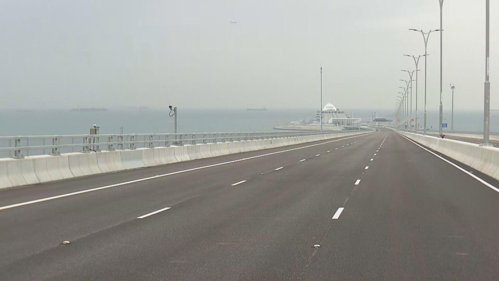 港珠澳大橋下周三通車 採用三地三檢模式