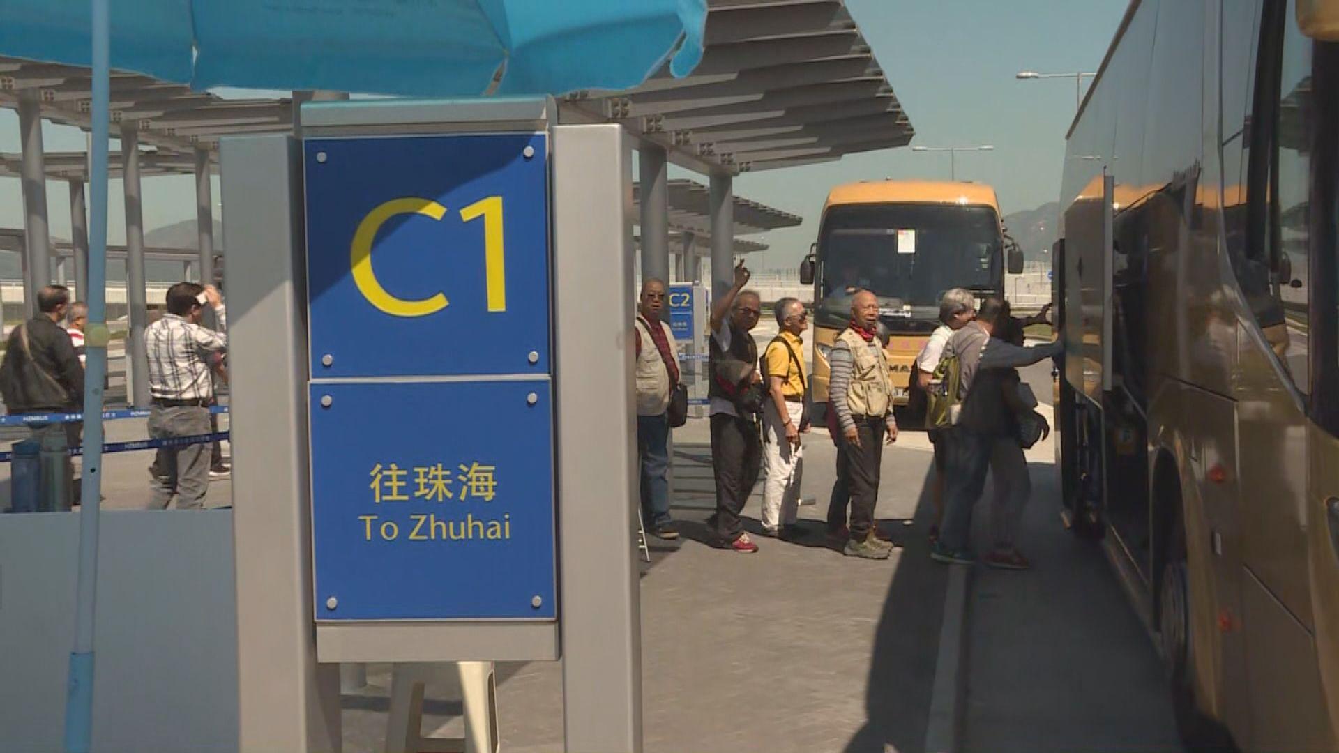 運輸署明將交代港珠澳大橋交通改善安排