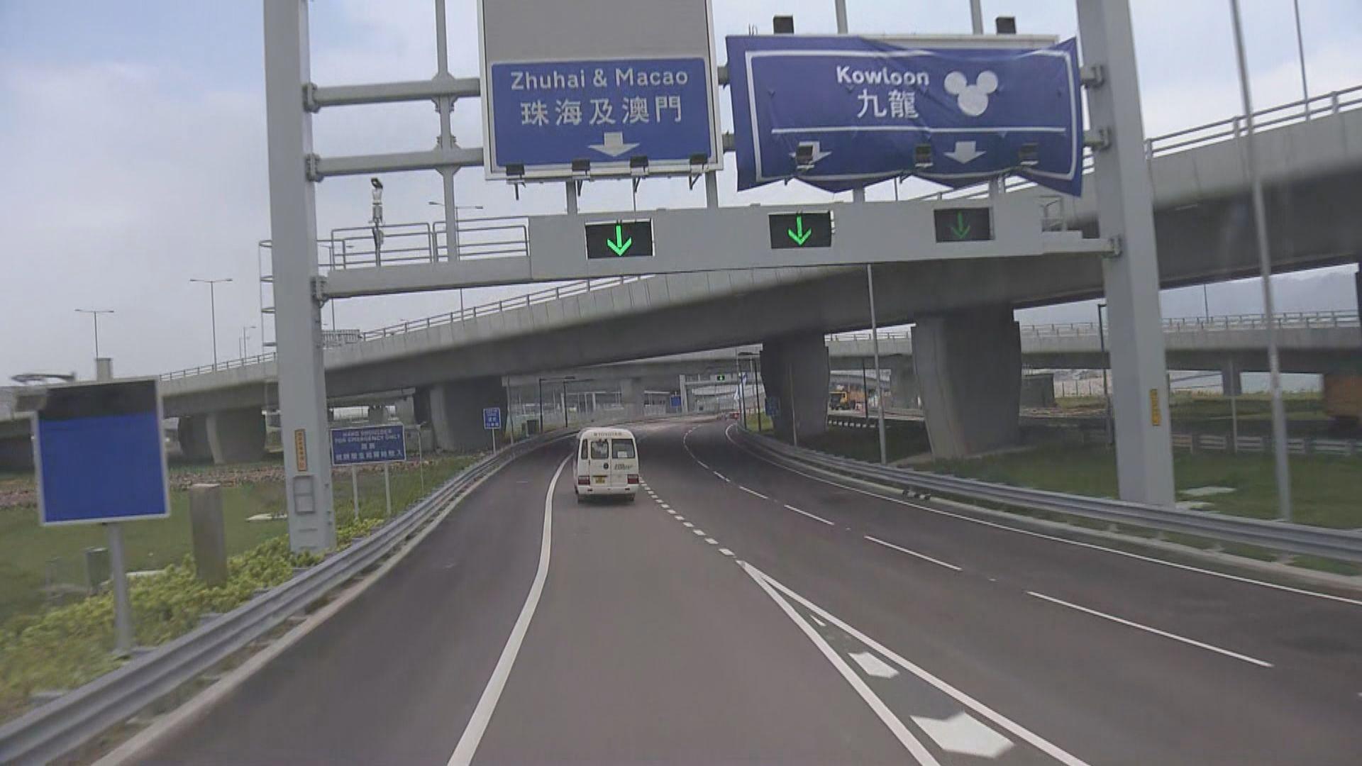 運輸署公布港珠澳大橋交通安排
