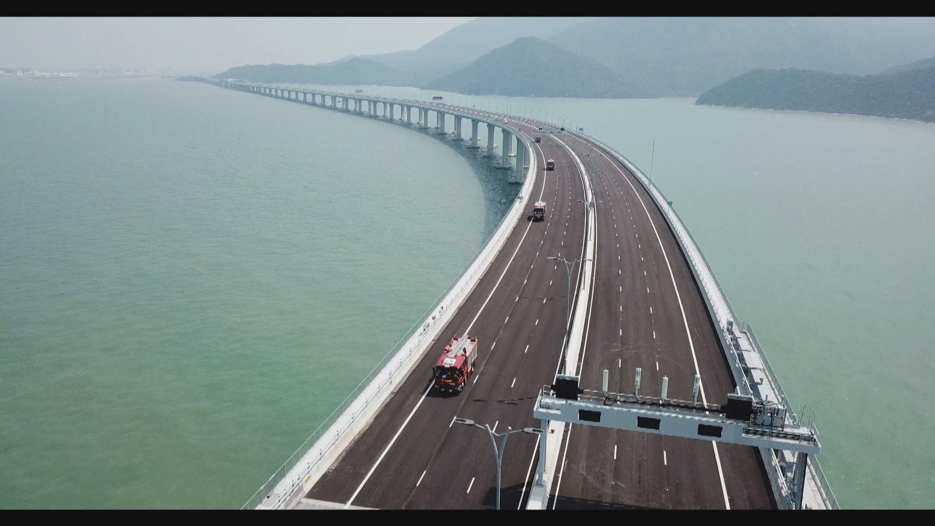 韓正:盼港珠澳大橋成三地的民心橋