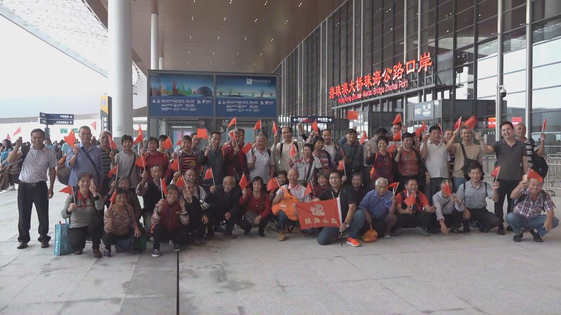 多個旅行團從珠海出發往香港