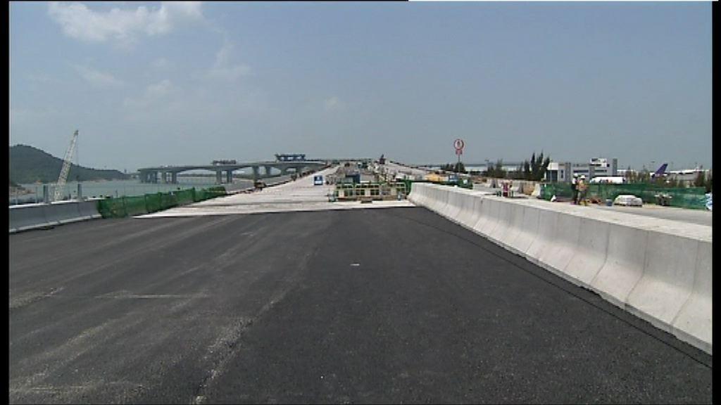 港珠澳大橋超支近百億人民幣港承擔廿億