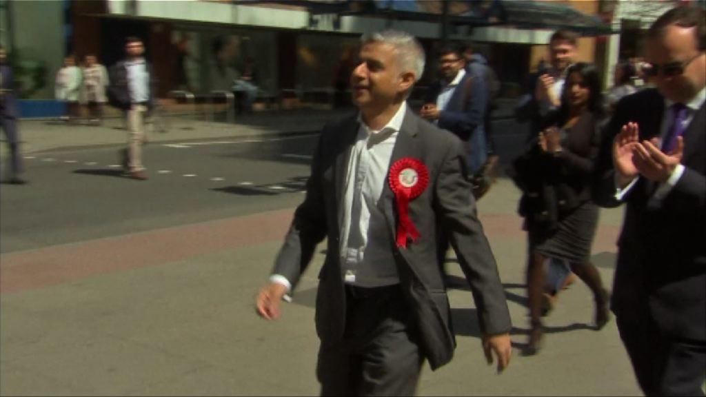 英國地方選舉 工黨料取倫敦