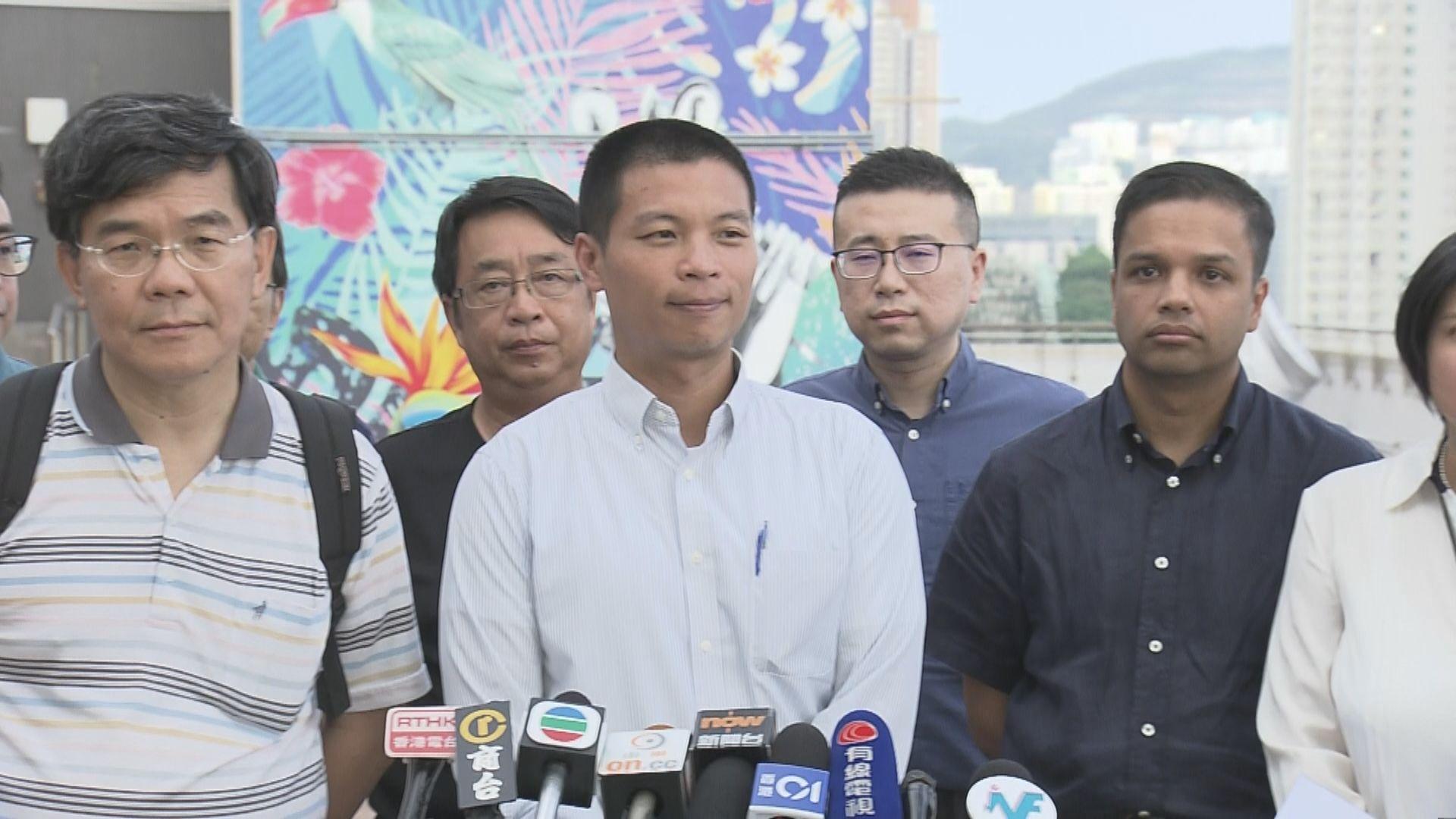 浸大教職員聯署譴責警方無理拘捕兩學生