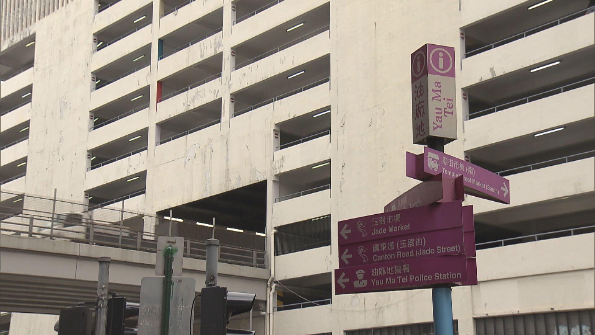 市區地標油麻地停車場大廈明年拆卸 社區面貌將重大改變