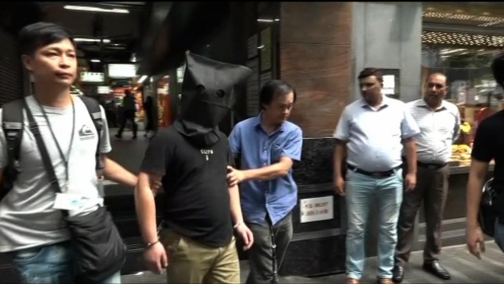 警方搗破爆竊集團拘三名內地男子
