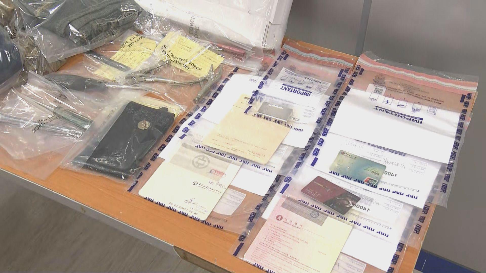 男子涉元朗區內十三宗爆竊案被捕