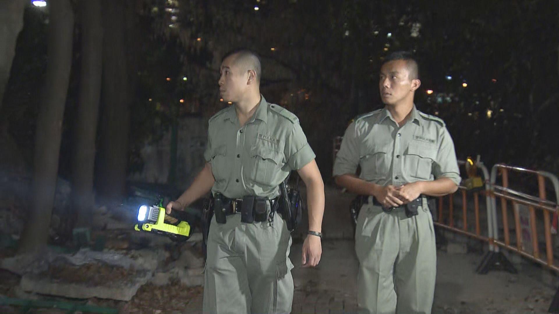 警方淺水灣進行反爆竊行動