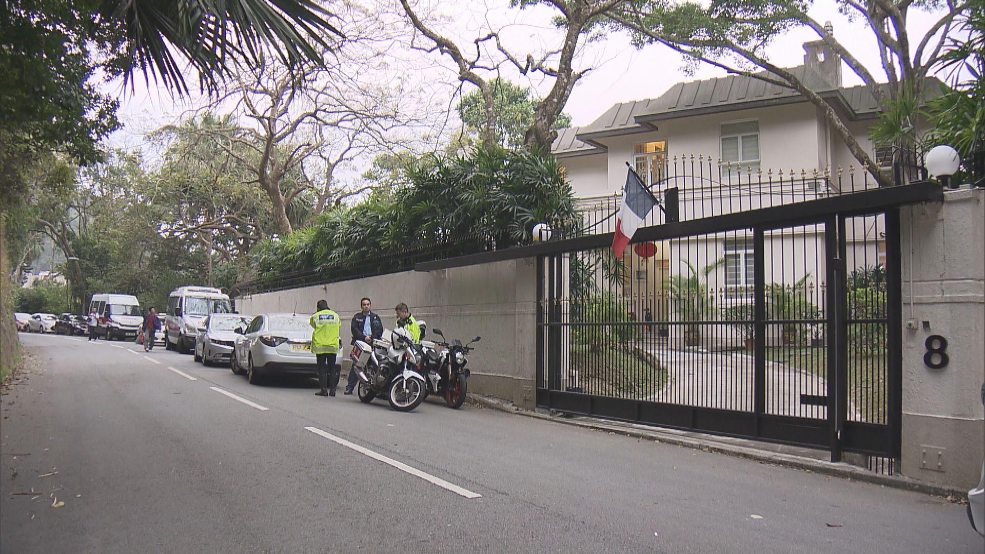 法國總領事位於山頂官邸遭爆竊