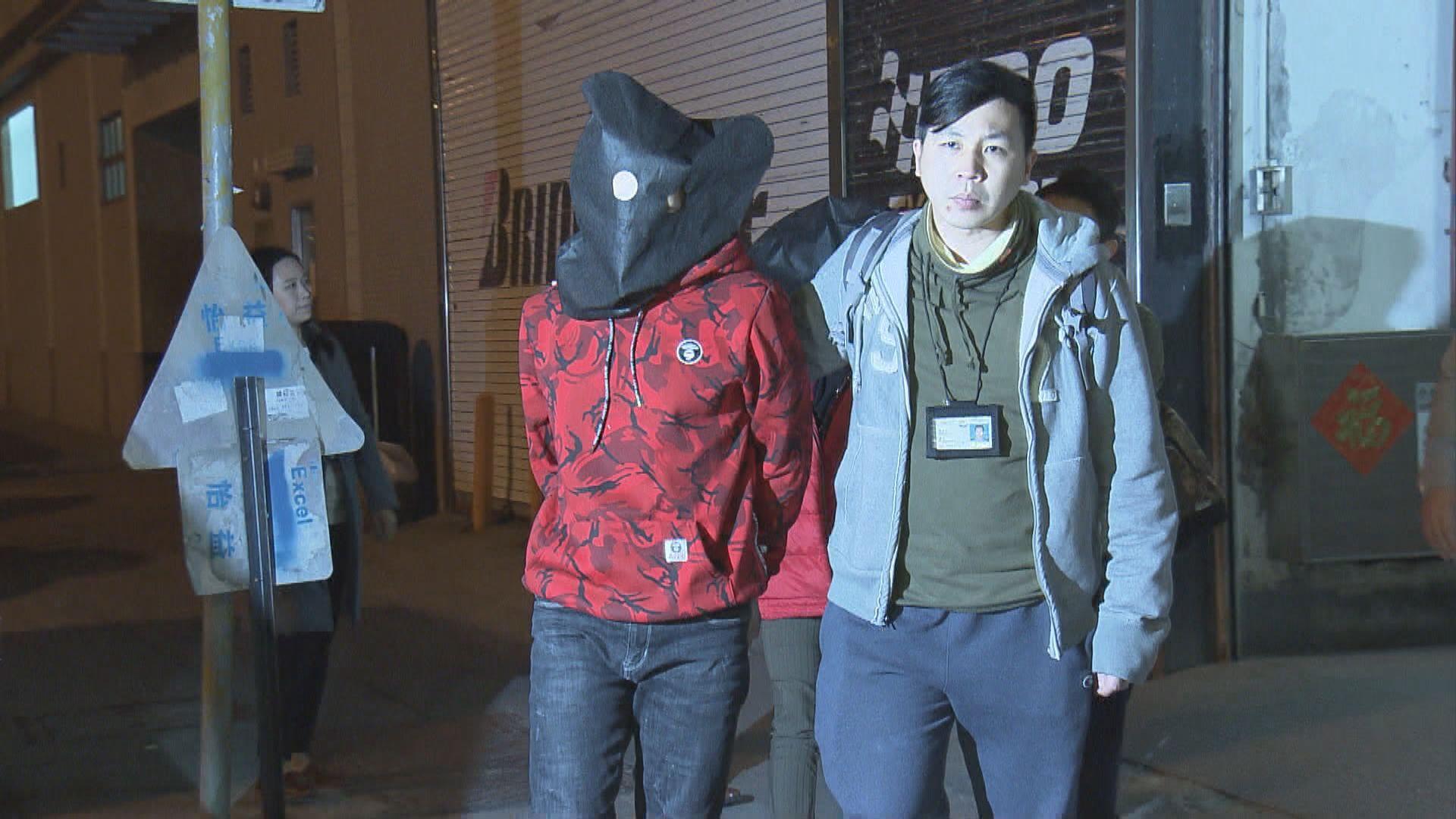 一對男女涉旺角三宗爆竊案被捕