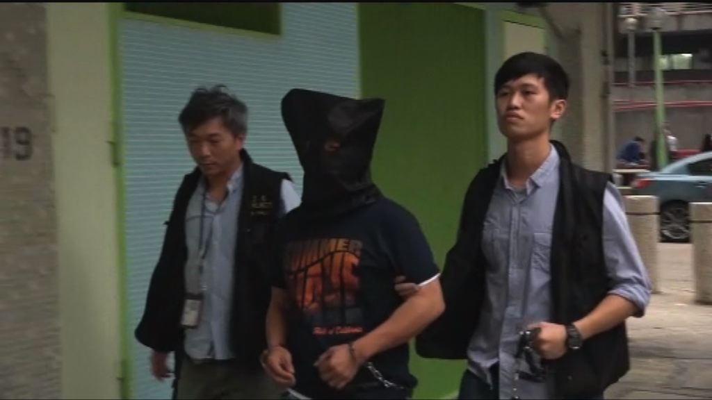 男子涉上水五宗爆竊案被捕