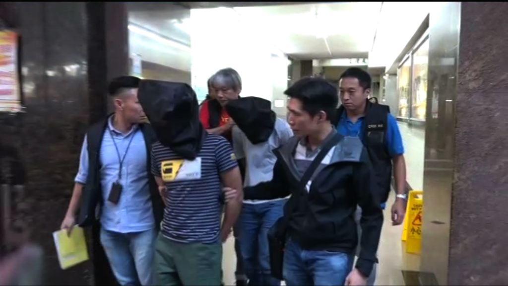 警拘兩內地男疑涉多宗爆竊案