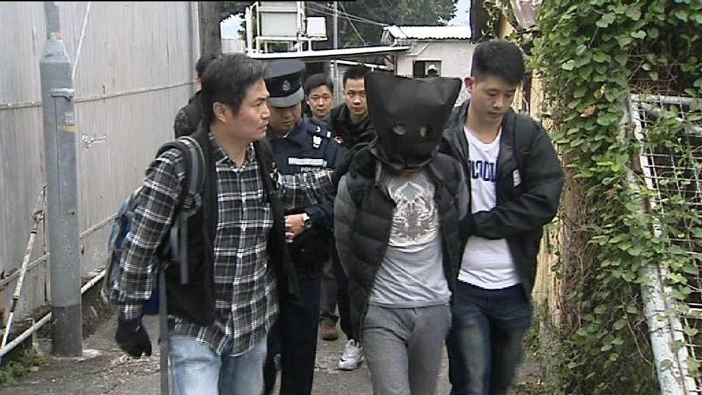 警方搗爆竊集團 拘3內地男