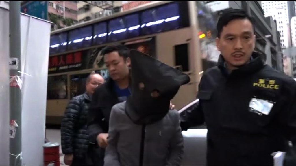 警搗爆竊集團 拘四內地男子