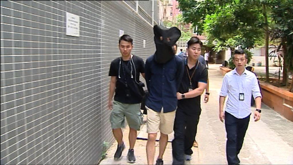 灣仔爆竊案警方拘捕兩疑犯