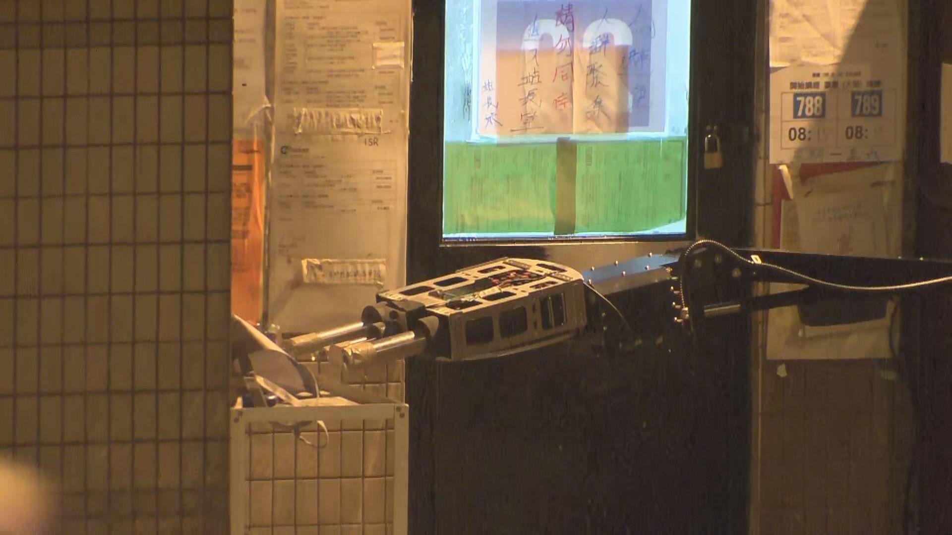 藍灣半島巴士站發現懷疑爆炸品