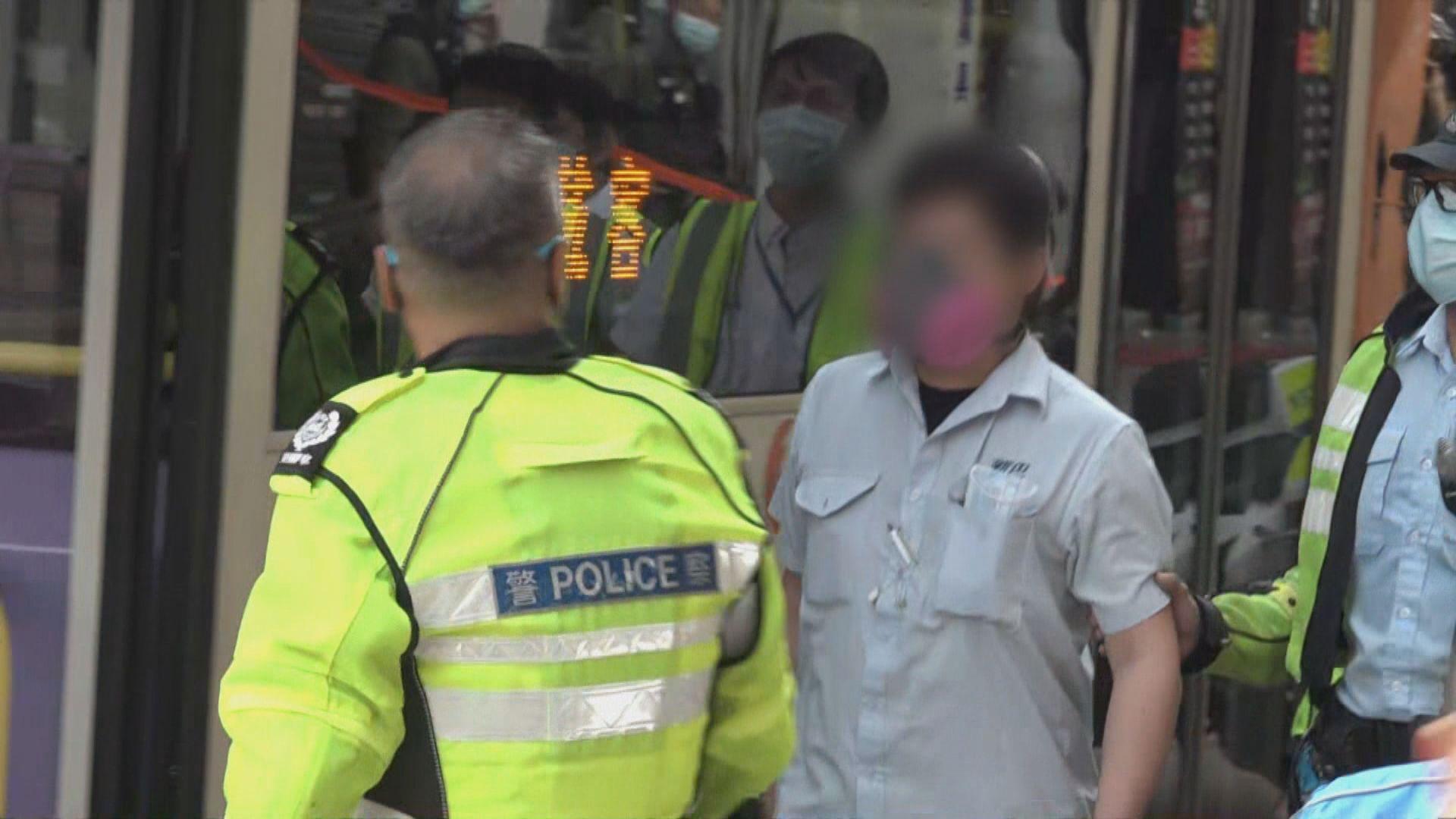 新巴車長周日被捕 工會:黑盒顯示車長無超速