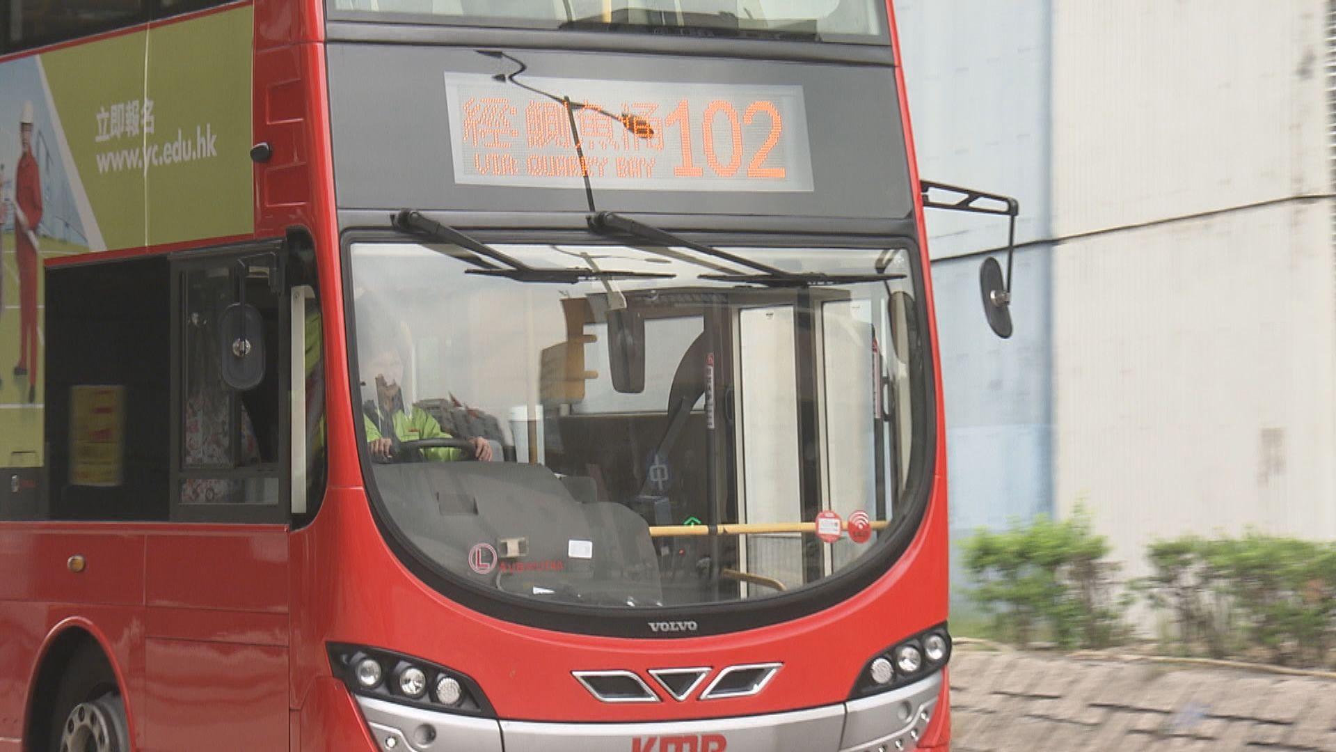 運輸署建議所有新購置巴士配備安全帶