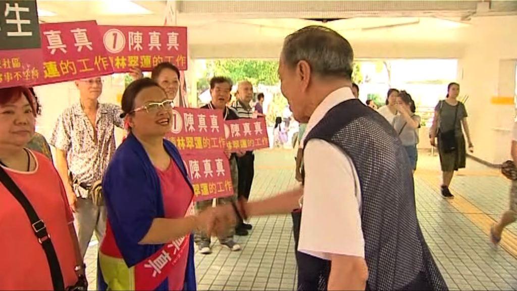 東區佳曉選區補選 投票率較換屆選舉高