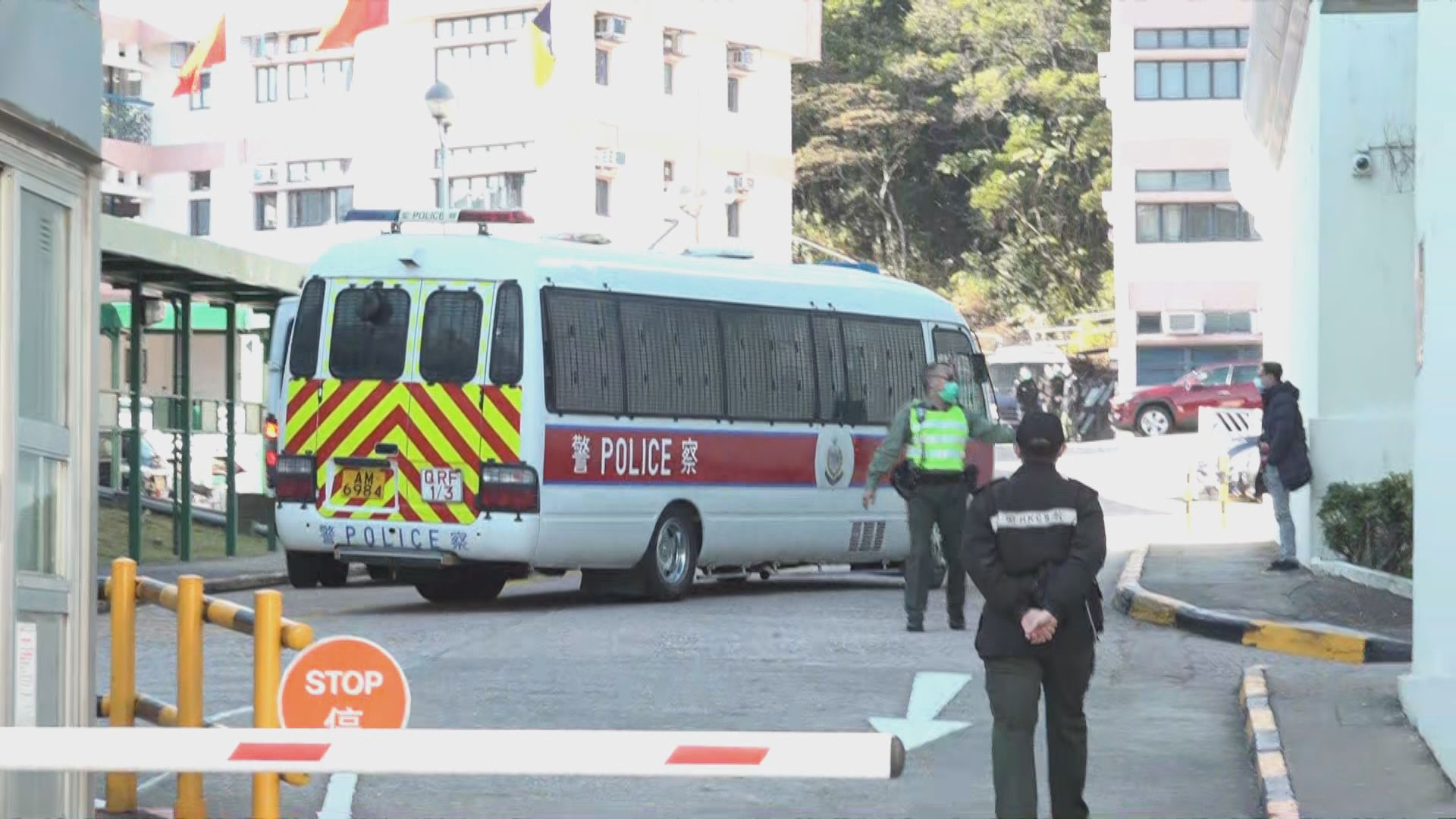 黃臨福廖子文回港後須在懲教署檢疫 案件押後審理
