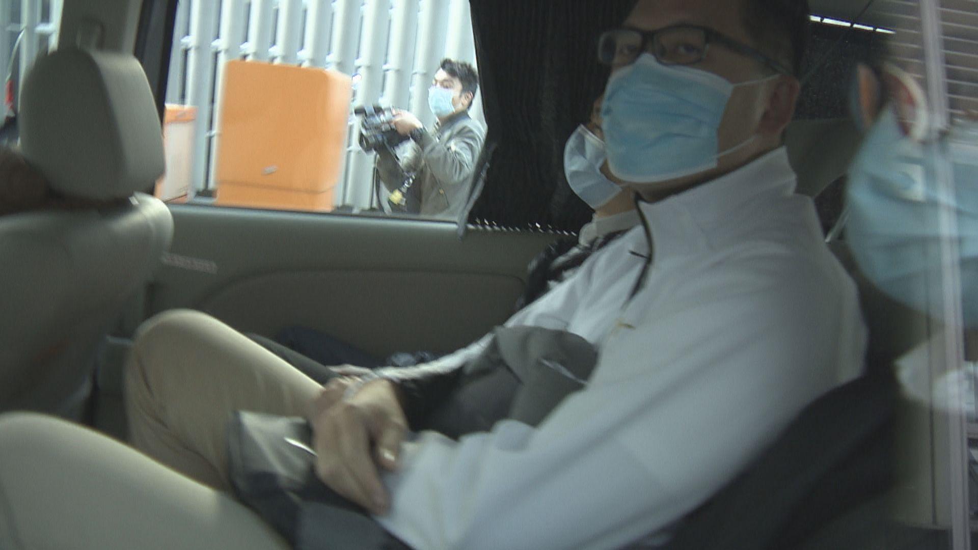 涉披露721受查人身份案 林卓廷下月27日再提堂