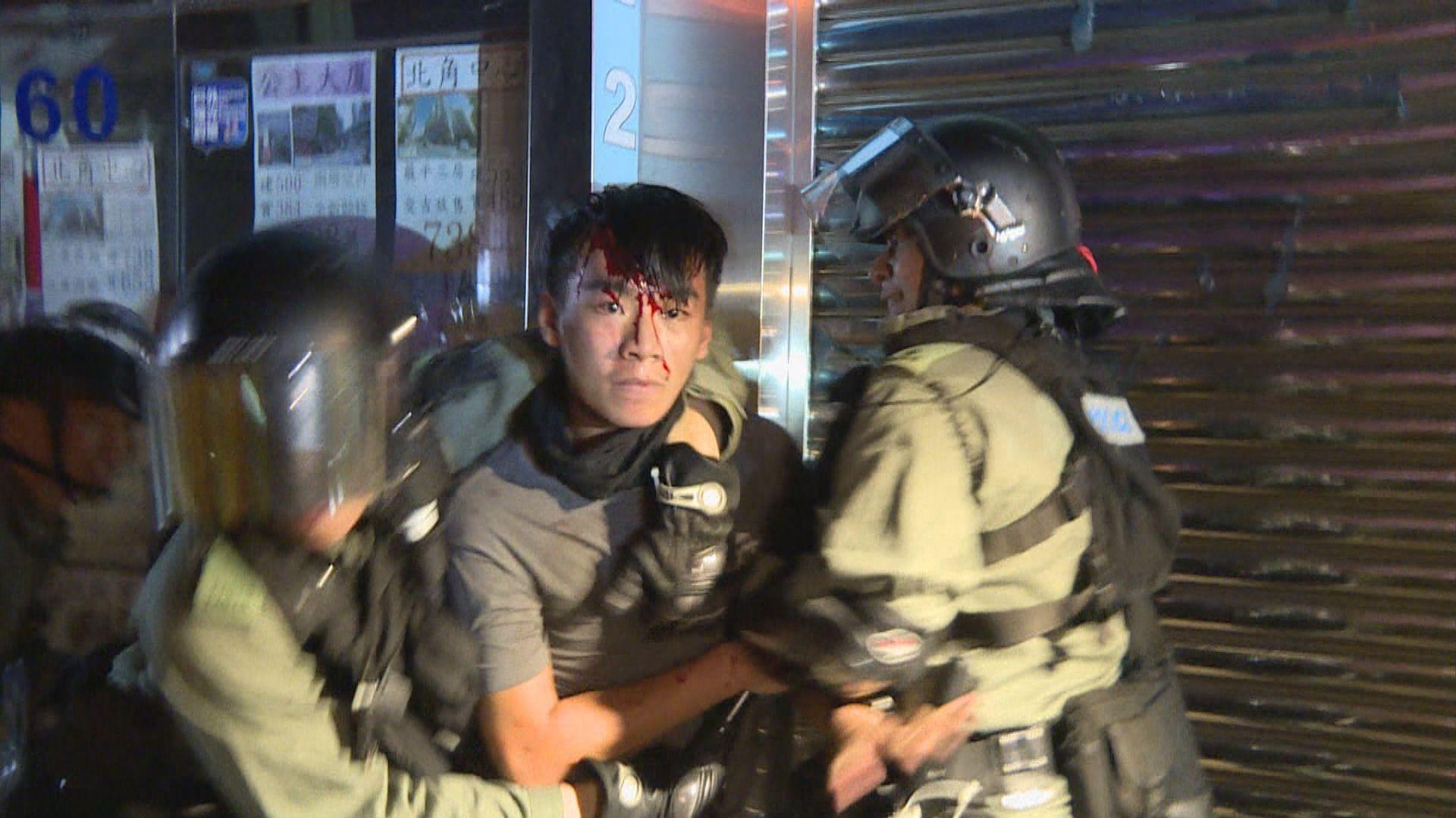 19歲學生被控周日北角襲警提堂准保釋