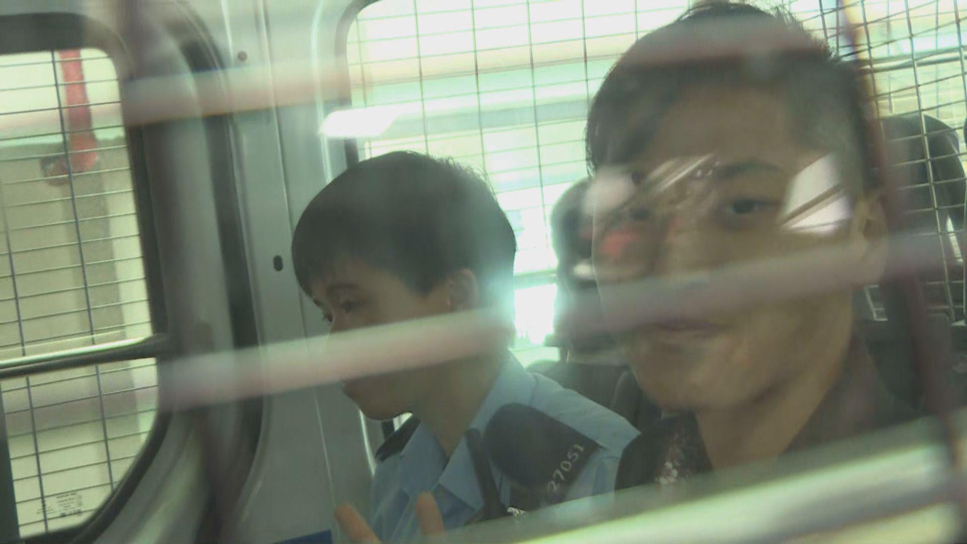 23歲女子涉機場非法禁錮不准保釋