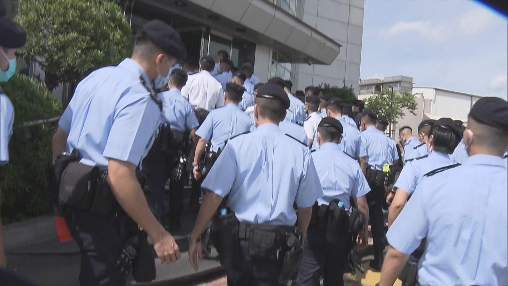 壹傳媒集團就警方檢走文件入稟法院要求作指示