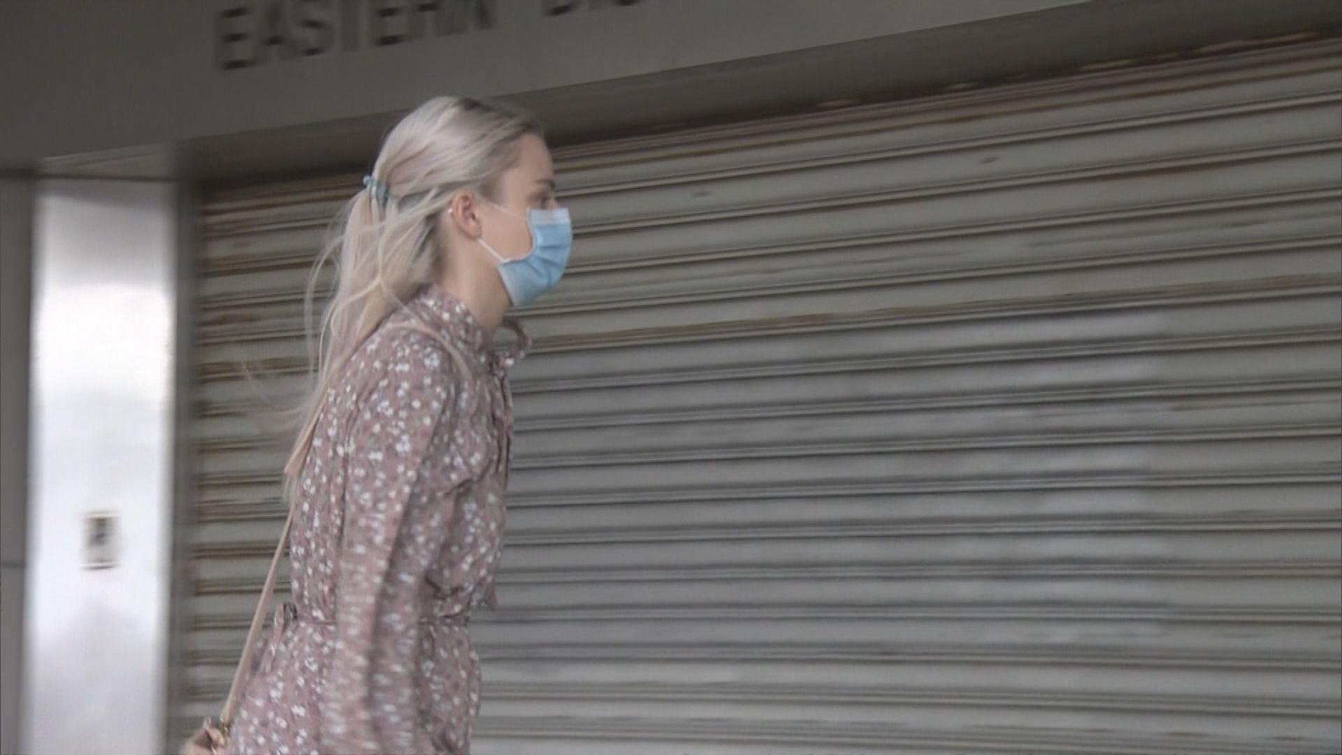 澳籍女子在天橋上擲磚頭 企圖襲警罪成監禁3個月