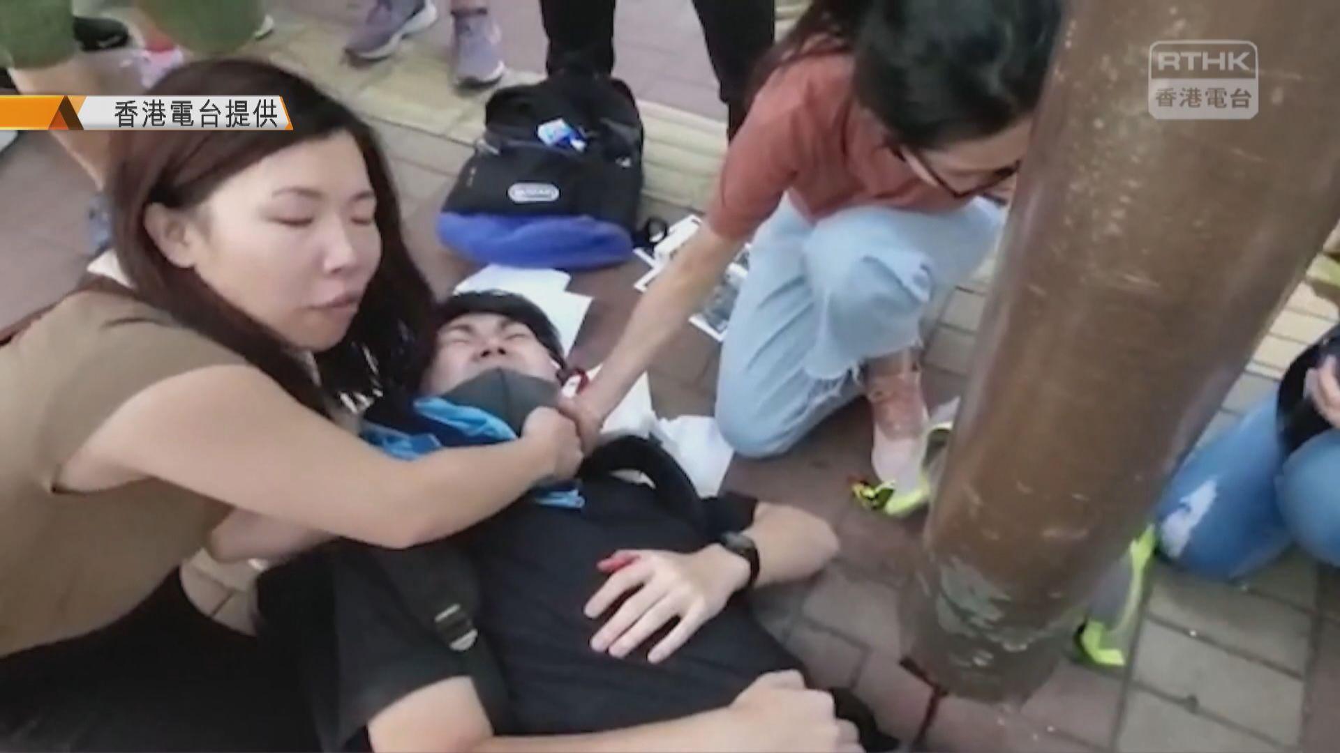 內地男刀傷派反修例傳單青年囚6年4個月 官批摧毀受害人一生