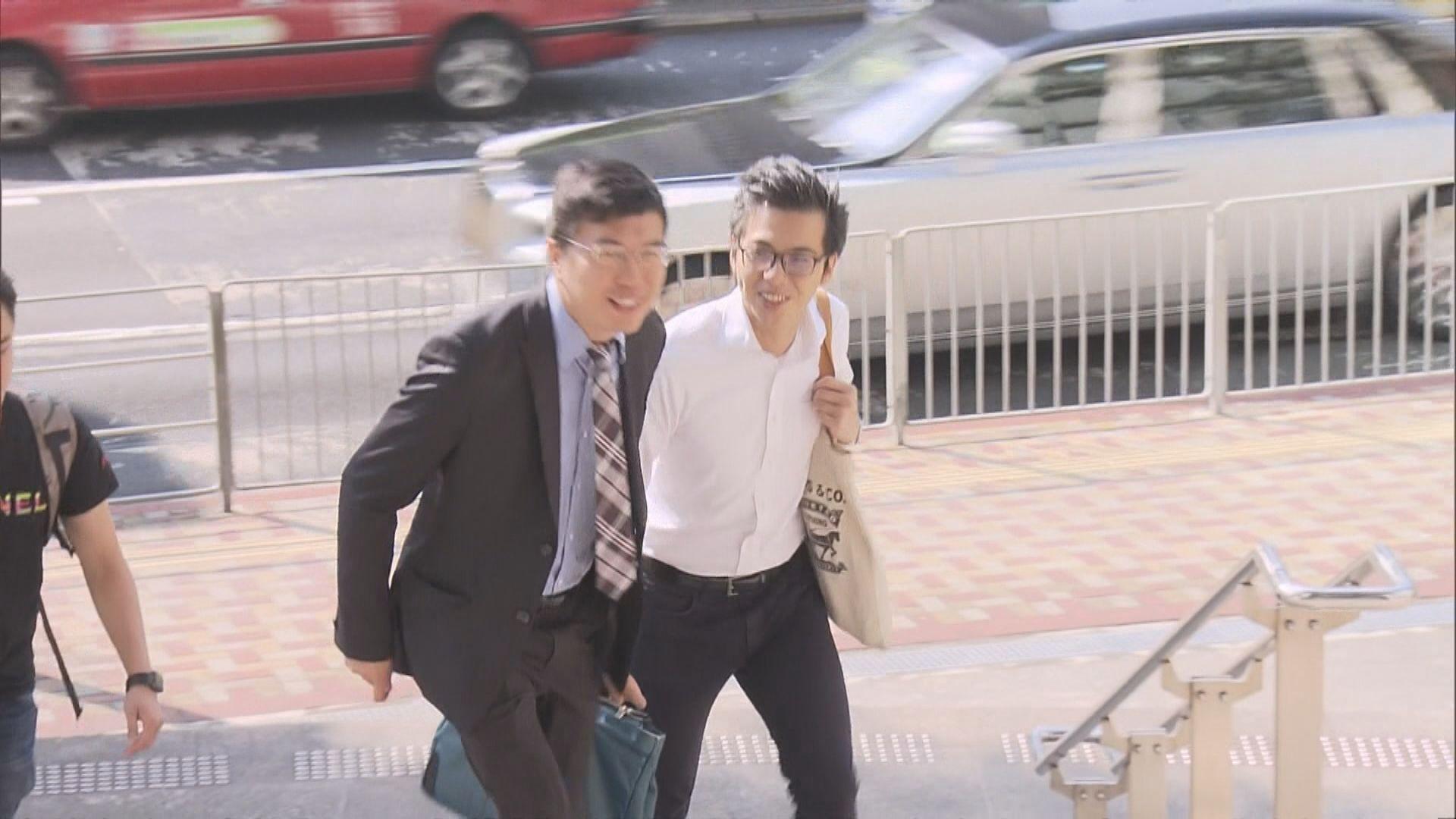 區諾軒涉以大聲公襲警 案件押至12月再訊
