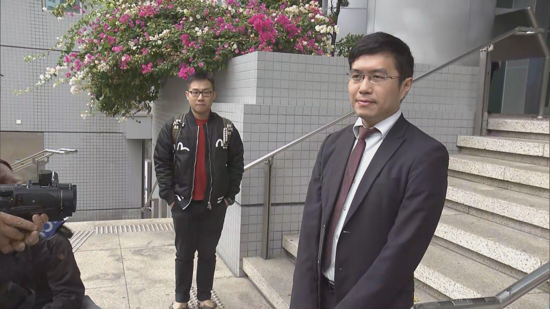 區諾軒以揚聲器襲警案開審 控方傳召三名警員作供