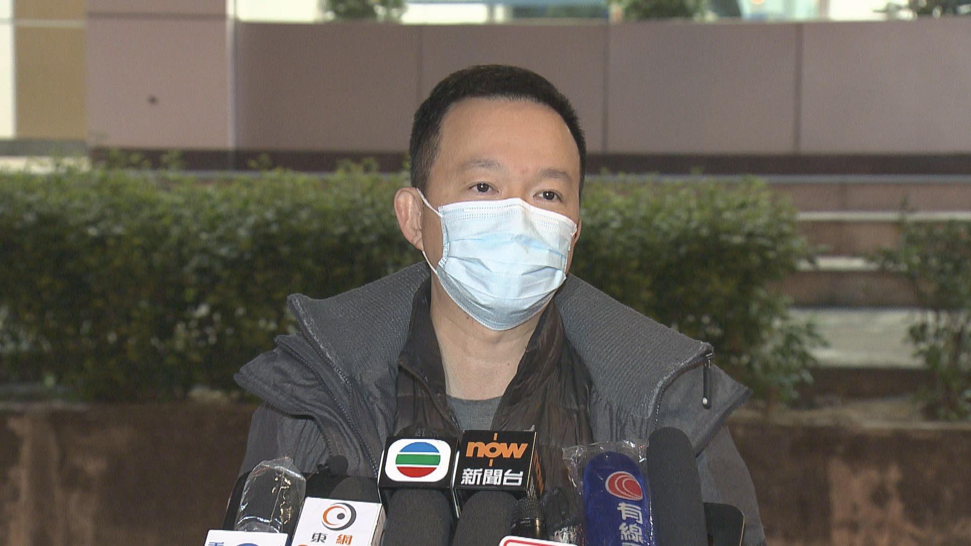 陳志全獲准保釋離開法院 涉初選案還柙逾半年