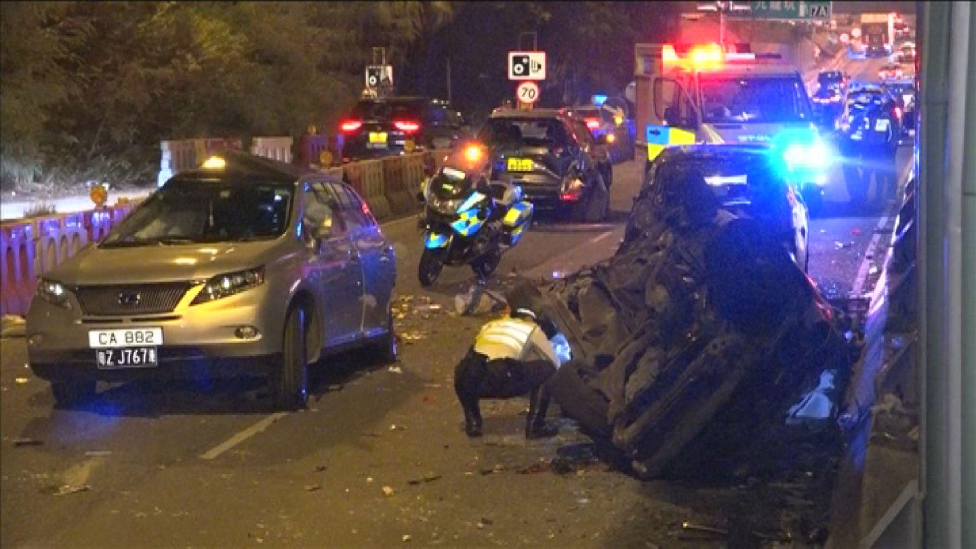 粉嶺公路「人肉路障」事件 兩死者被裁定死於意外