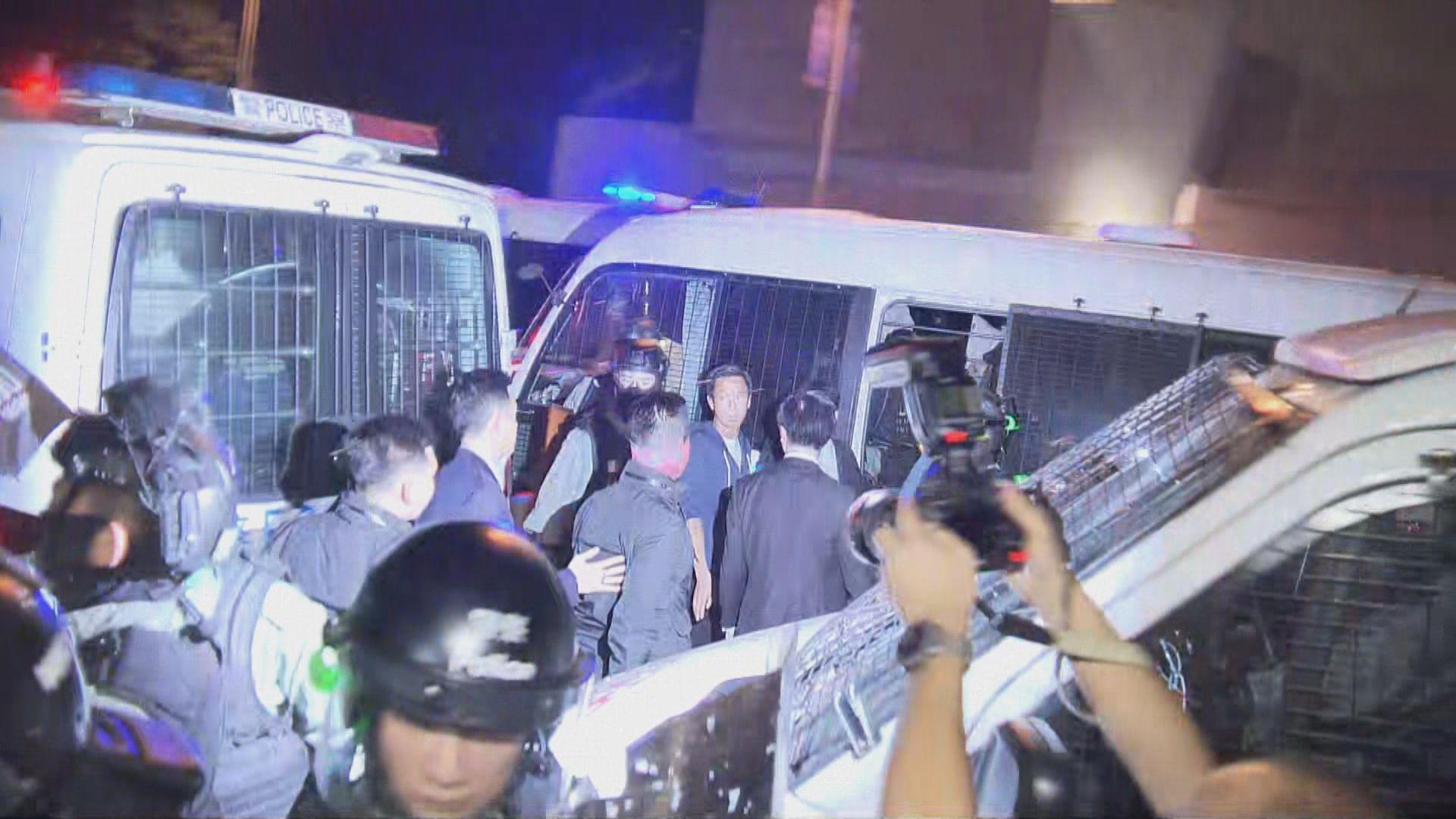 灣仔爆炸品案五人還押至下月12日再訊
