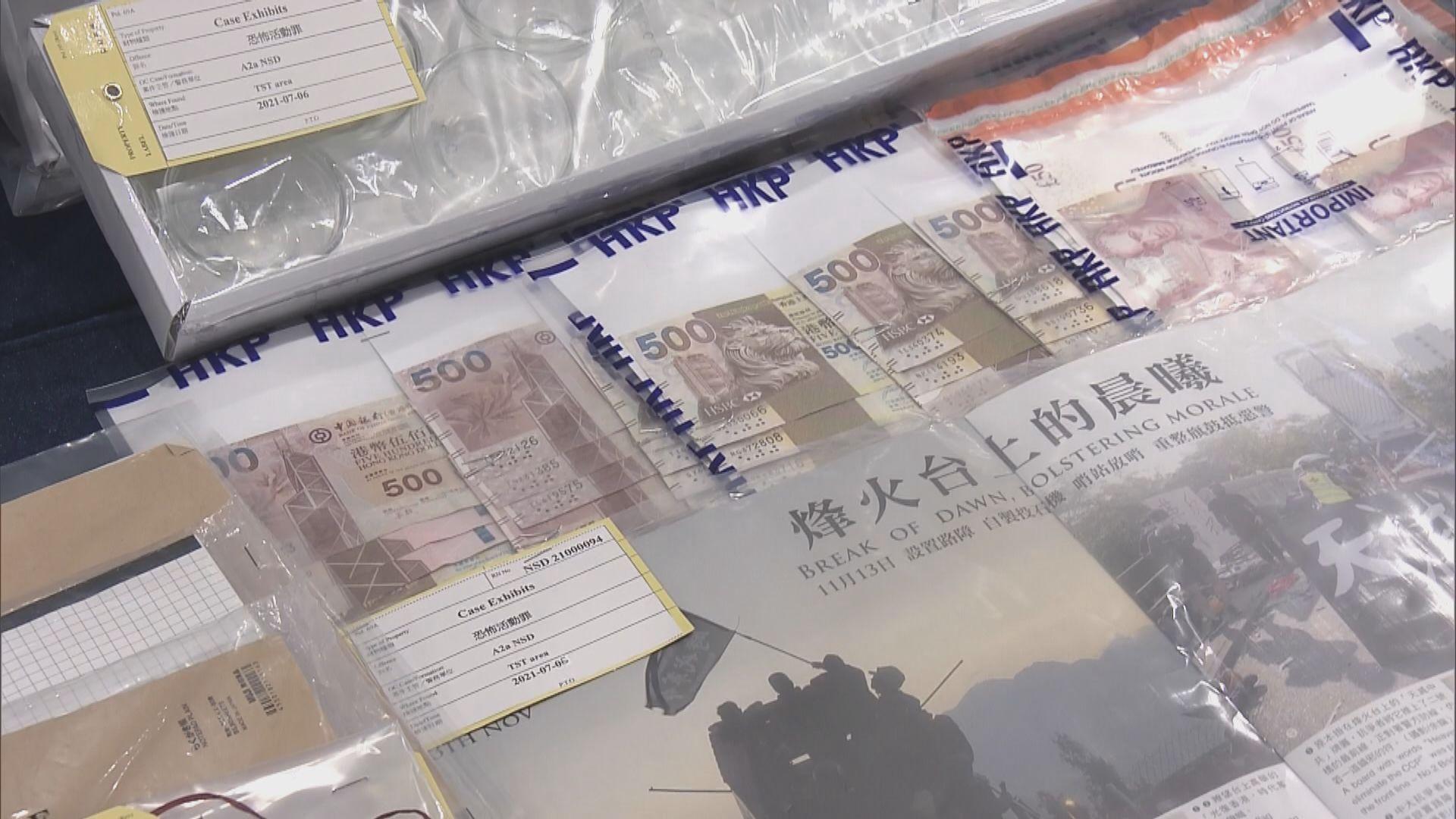光城者案多三人被控串謀策劃恐怖活動 九月再訊