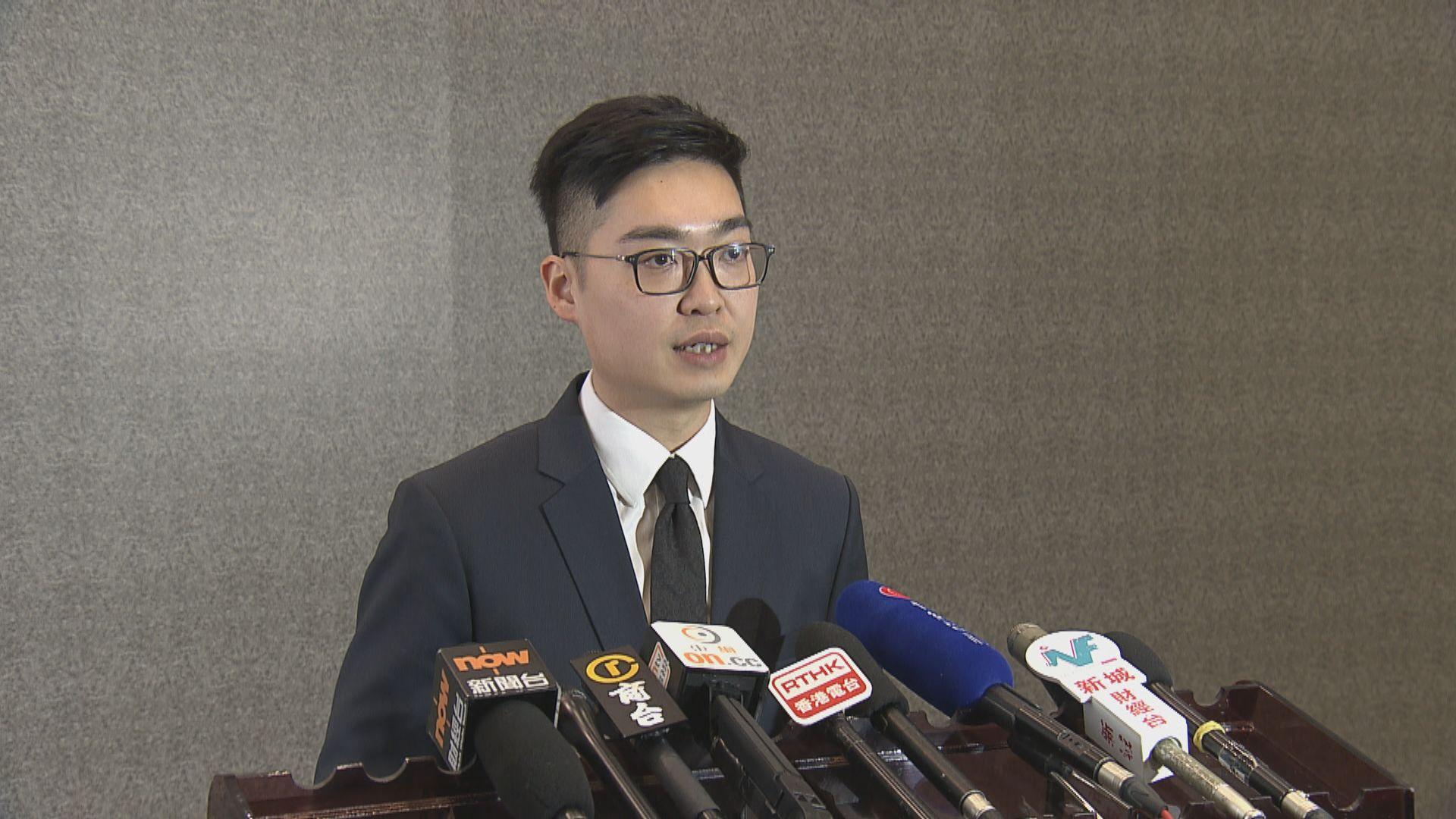 陳浩天拒絕透露出席上訴聆訊的官員和內容