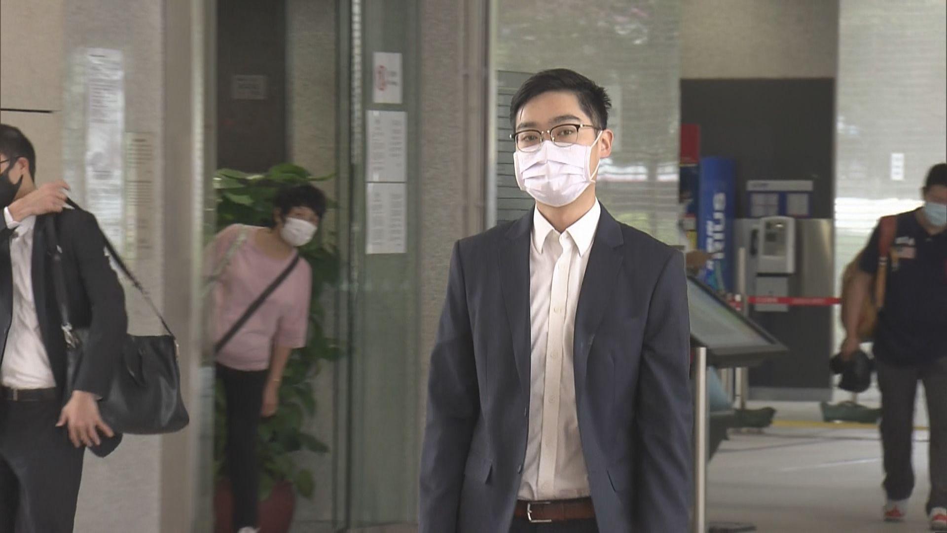 陳浩天被控非法集結等罪 報稱遇襲警長作供