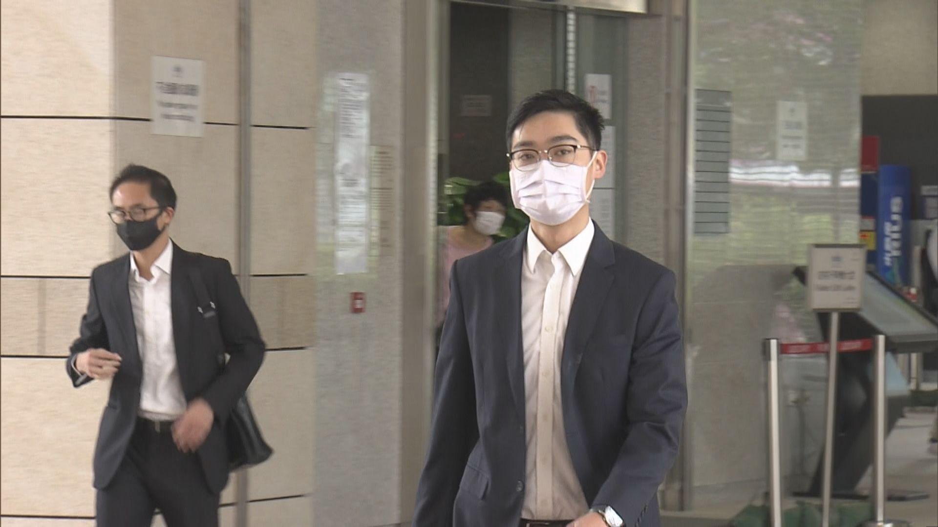 去年「光復上水」遊行 陳浩天否認非法集結及襲警
