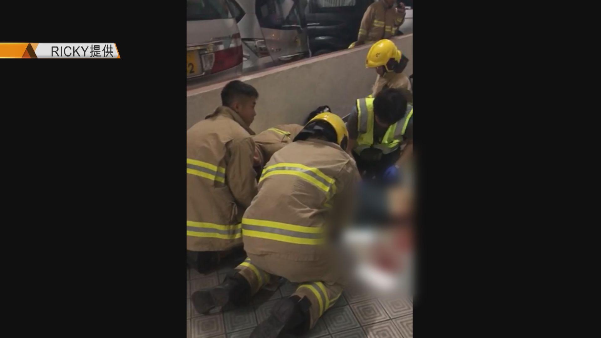 周梓樂死因研訊 市民目睹停車場二樓有人倒地