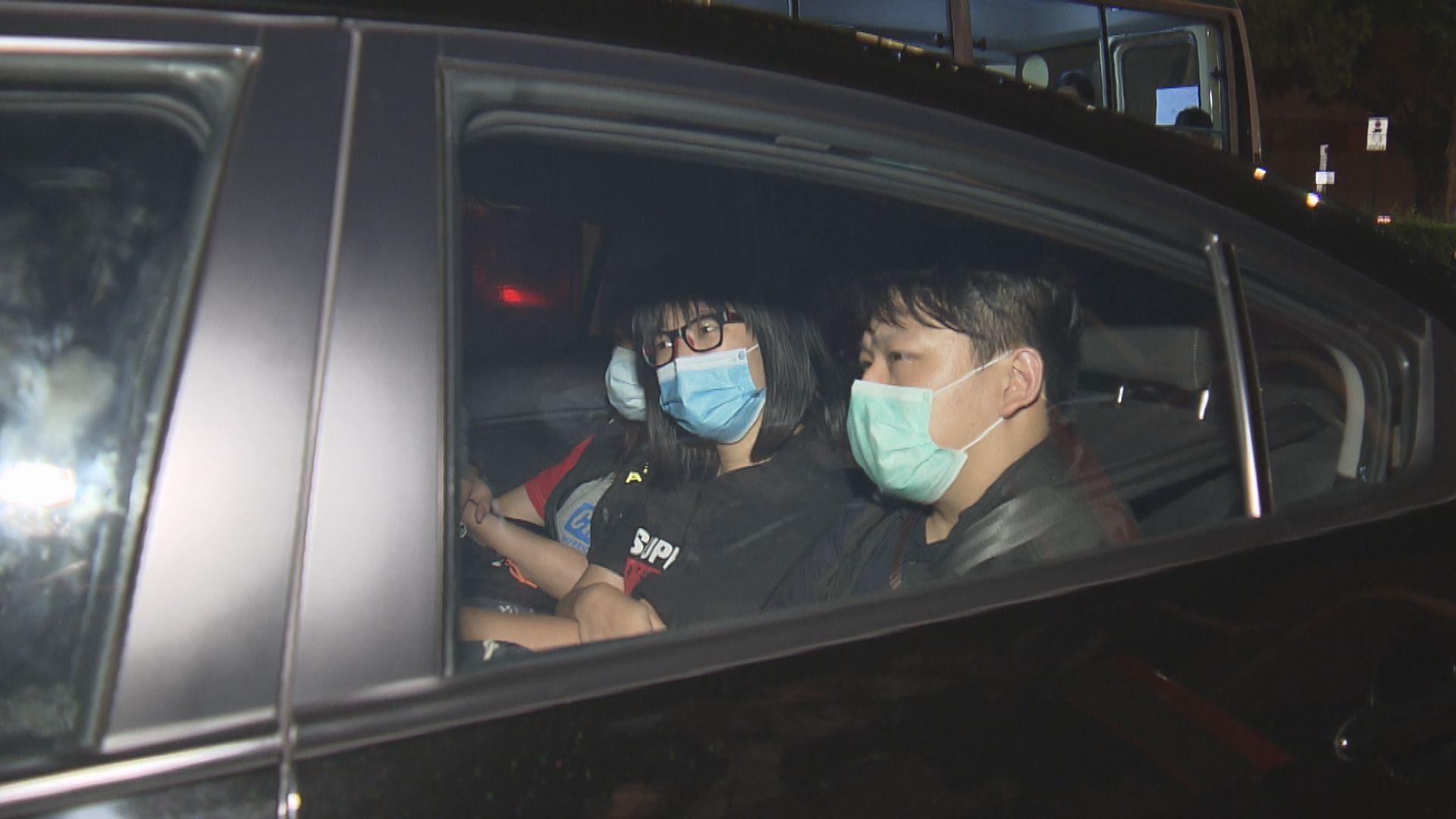 鄒幸彤被控煽惑他人明知而參與未經批准集結須還柙