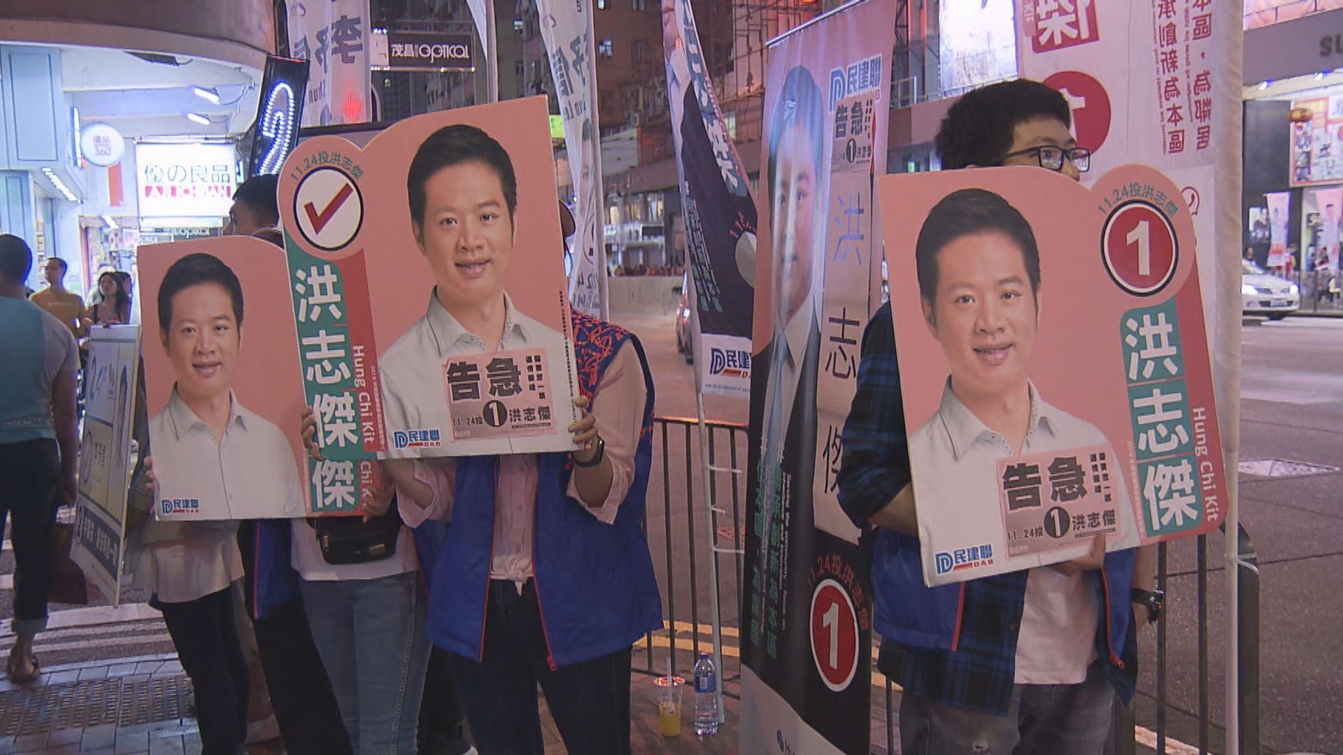 民建聯洪志傑提選舉呈請 促裁定李予信非妥為當選