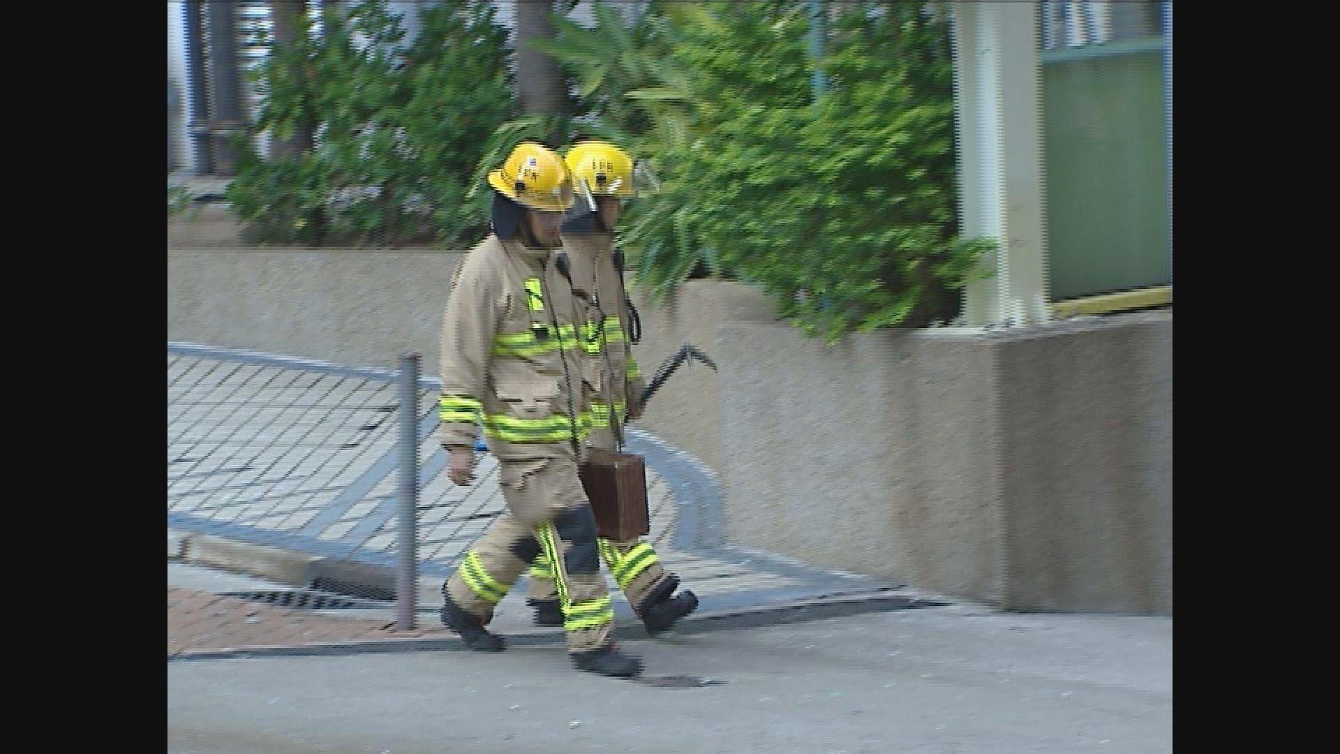 死因裁判官質疑消防員無按指引戴上裝備