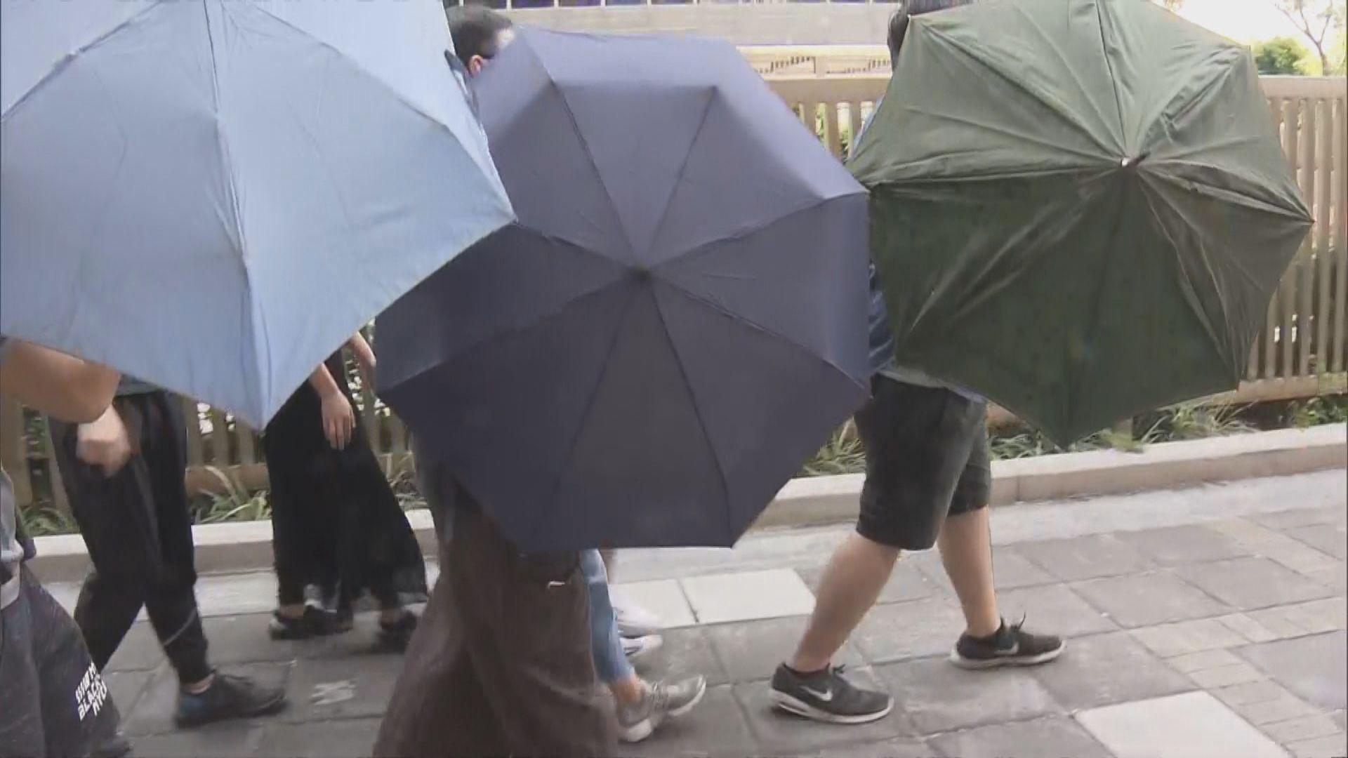 兩男一女被控周日沙田參與暴動提堂