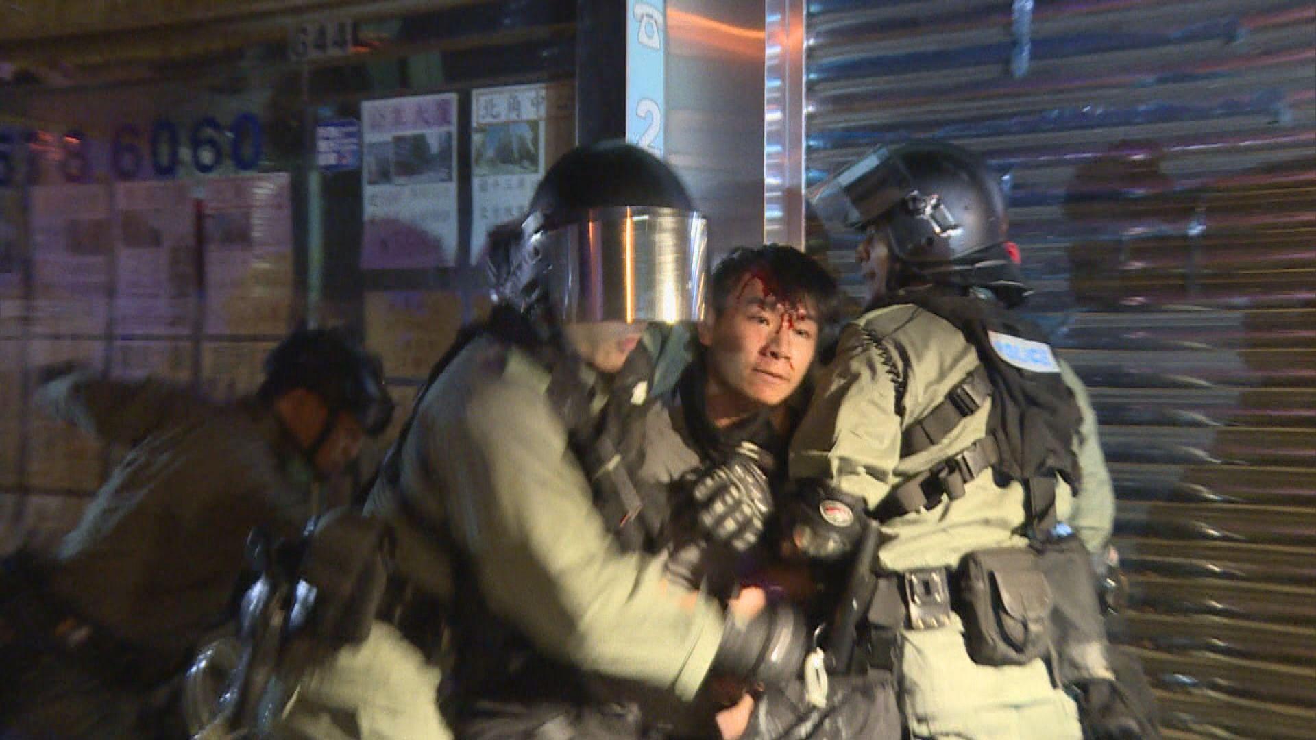 19歲男學生去年炮台山襲警拒捕等三罪成 囚十個月
