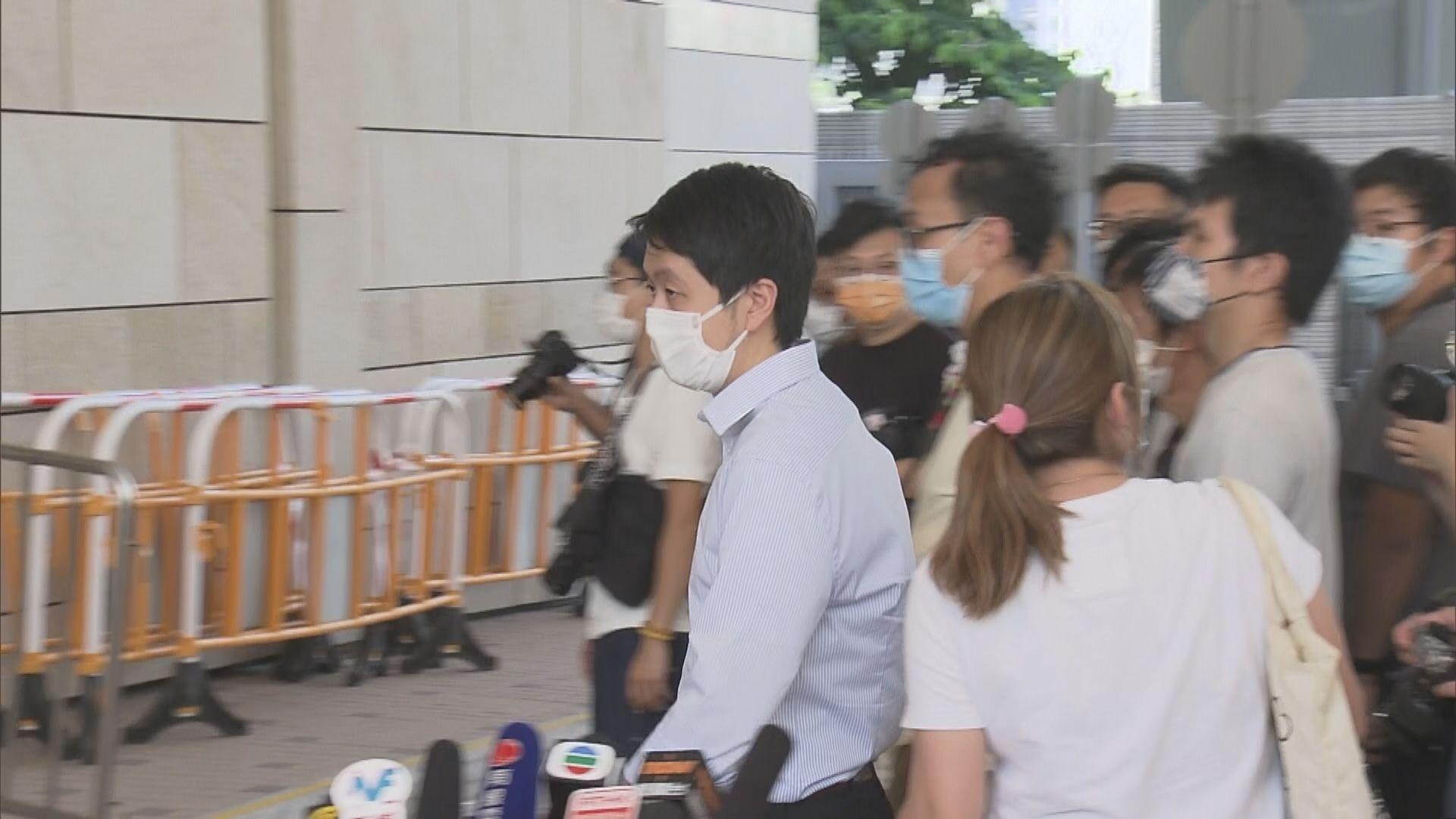 許智峯兩宗私人檢控案 律政司提出撤控獲法庭接納