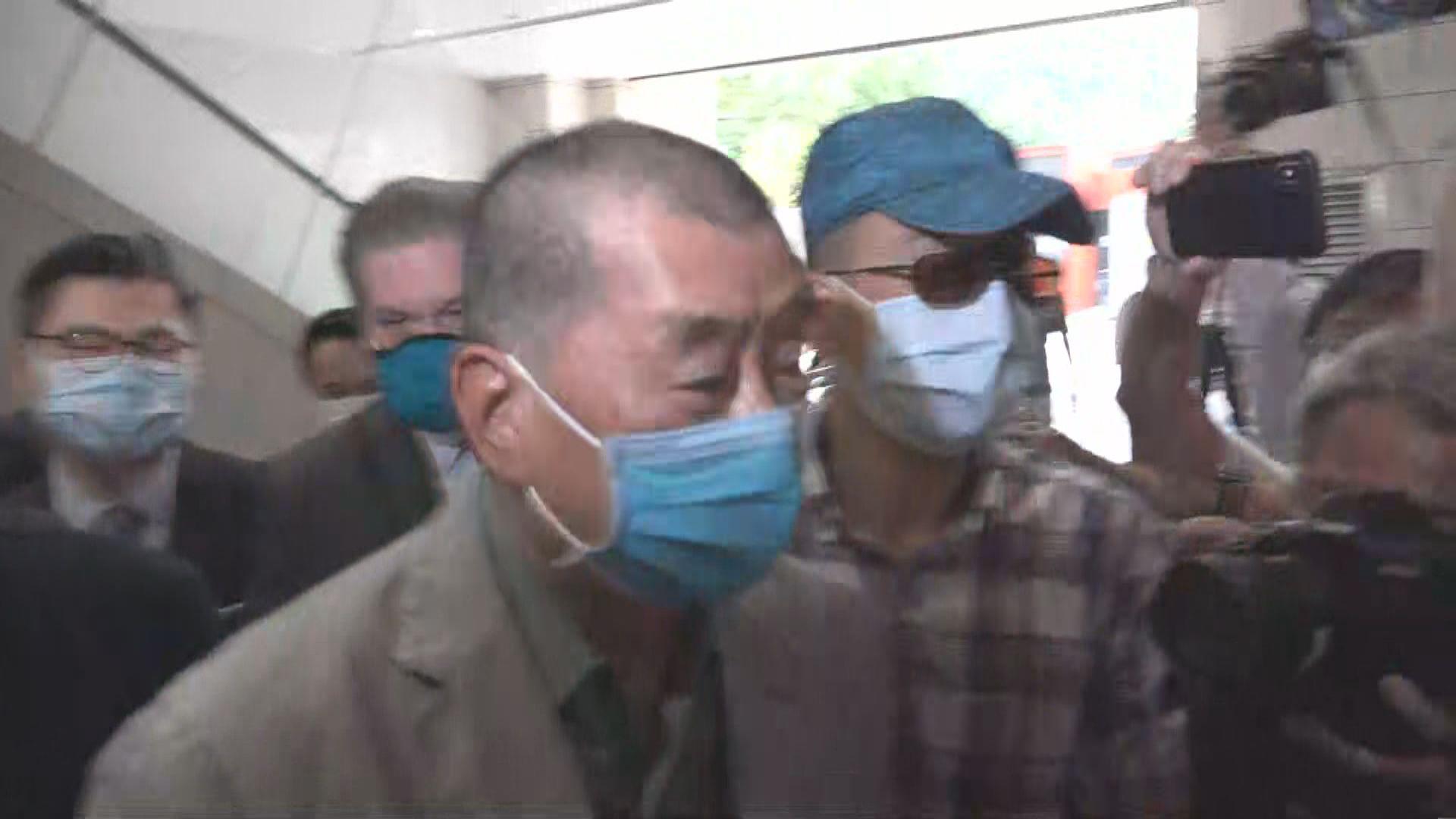 黎智英涉嫌三年前恐嚇記者 被裁定罪名不成立