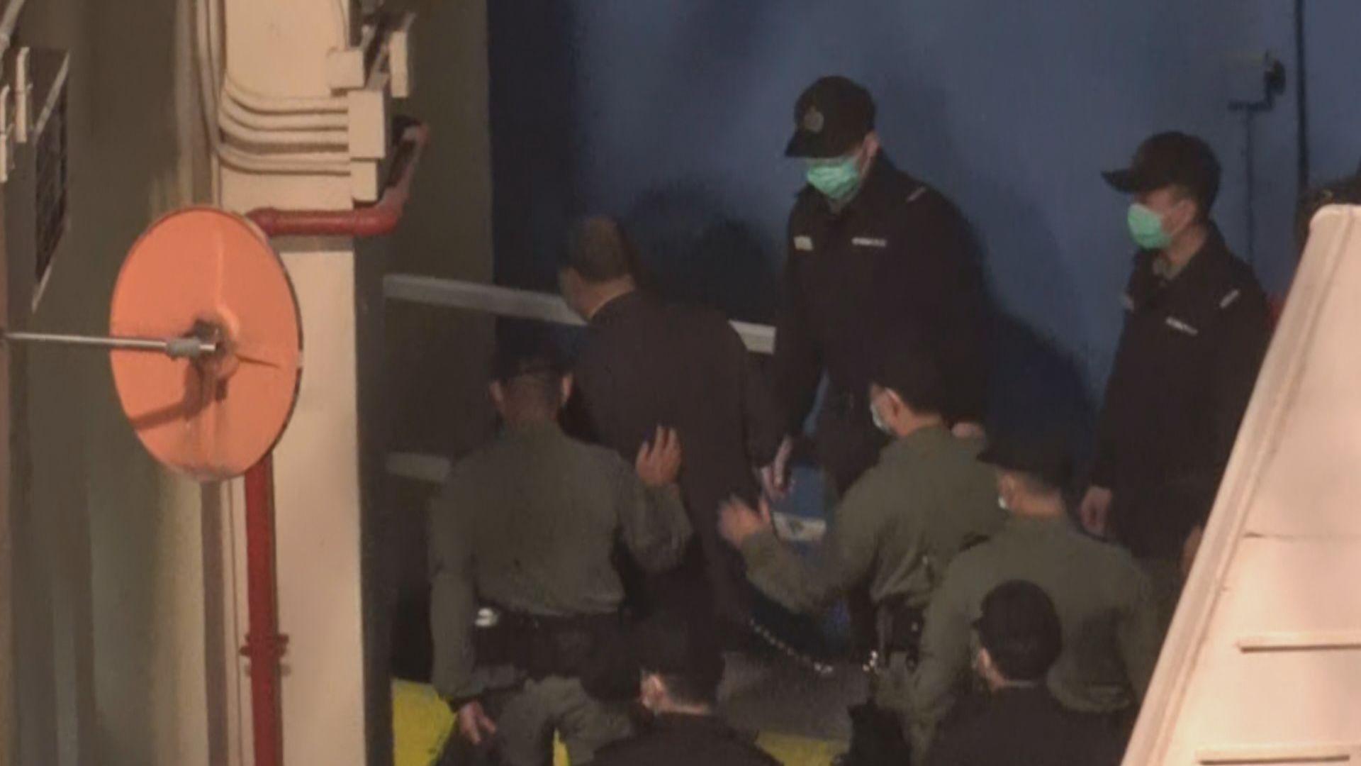 黎智英被送到荔枝角收押所 2月1日進行上訴聆訊