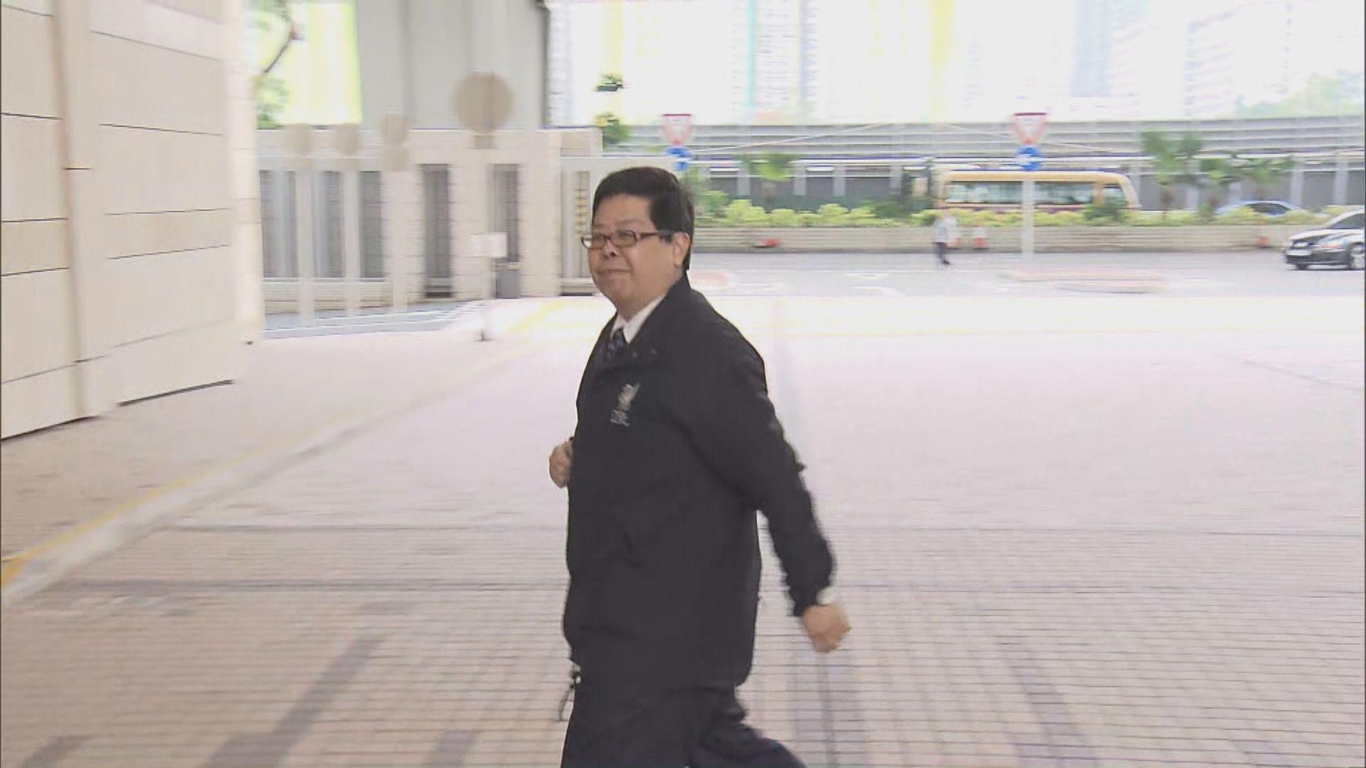 林子健涉虛報案 控方將傳召證人講述傷口報告